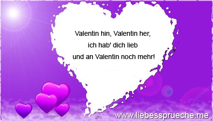 Außergewöhnlich Valentinstag Sprüche